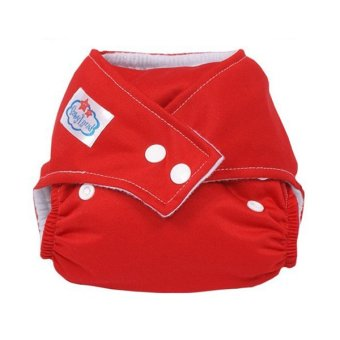 Harga PAlight Baby Washable Cloth Diaper Nappy (Red)