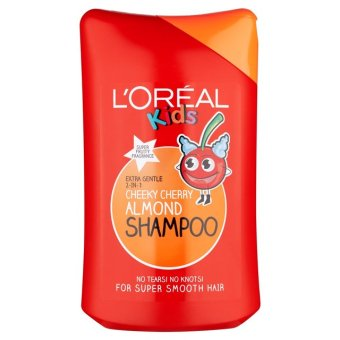 Harga L'oreal Kids 2 in 1 Shampoo Cheeky Cherry Almond Loreal - 250 ml