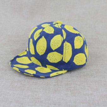 Harga Baby Boy Girl Unisex Lemon Cool Hats Newborn Caps - intl