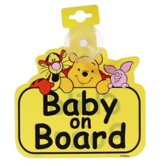 Harga Mothercare Winnie The Pooh Baby On Board Sign