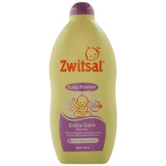 Harga Zwitsal Baby Powder Extra Care With Zinc 100Gr
