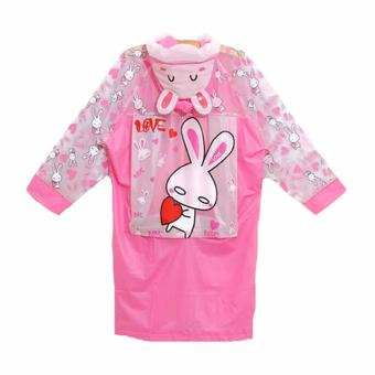 Harga Korean Fun Jas Hujan Rabbit Pink
