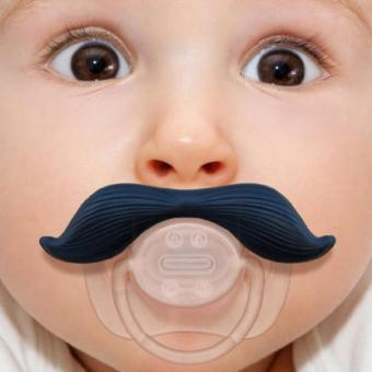 Harga The Gentleman Mustache Pacifier - intl