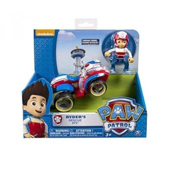 Harga Nickelodeon, Paw Patrol - Ryders Rescue ATV, Vehicle and Figure (works with Paw Patroller) - intl