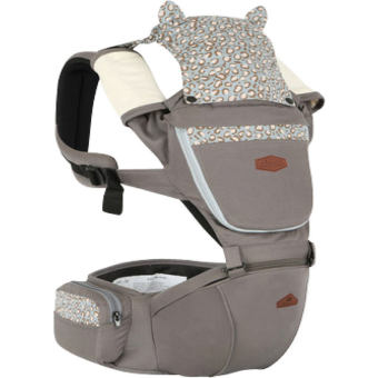 Harga AIEBAO A6626 Multifunctional Baby Carrier Waist Belt Infant Hip Seat(Grey) - intl
