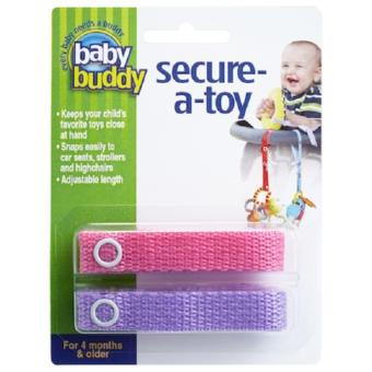 Harga Baby Buddy Secure-A-Toy - Pink Lilac