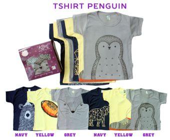 Harga Kazel Tshirt Penguin Edition - 6 Pcs