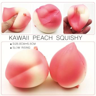 Harga medium peach squishy slow rising