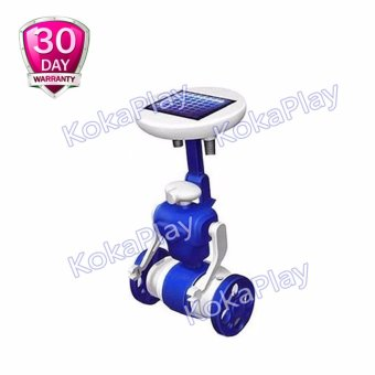 KokaPlay Solar Power DIY 6 in 1 Robot Kit Mainan Solar Edukasi Tenaga Surya - Biru