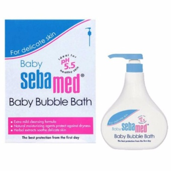 Harga Sebamed baby bubble bath 500ml - sabun bayi