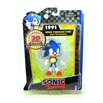 Harga Sonic 20th Anniversary 13cm Through Time Action Figure 1991 Sonic - intl