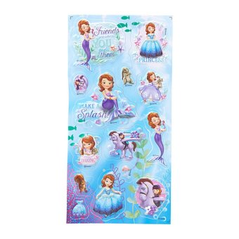 Harga Sofia The First Embossing Sticker