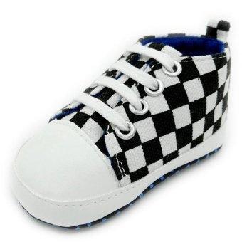 Cocotina Fashion bayi balita bayi perempuan sepatu anak laki sepatu bayi sol lembut (hitam dan