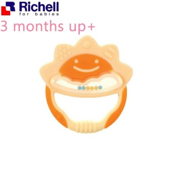 Harga Richell Baby Teether (Orange)
