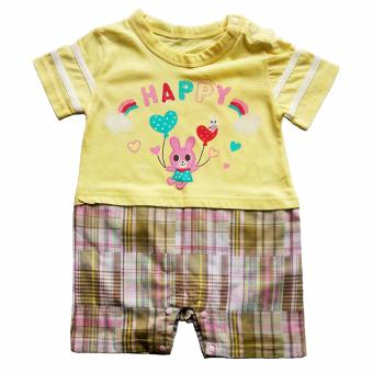 Harga Romper Bodysuit Happy Yellow