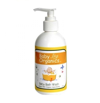 Harga Baby Organics Baby Bath Wash - 250 mL