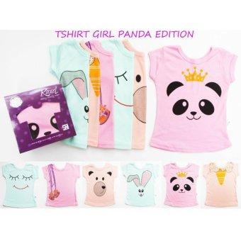 Harga Kazel Tshirt Panda Edition - XXL (5-6yr)