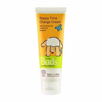 Harga Buds Organics - Nappy Time Change Cream 75ml - Krim Pencegah Ruam Organik