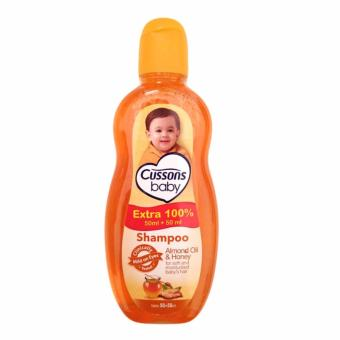Harga Cussons Baby Shampoo Almond Oil and Honey - 50+50 ml