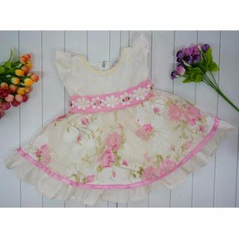 Harga Anvi Dress Pesta Baby Glamour Pink