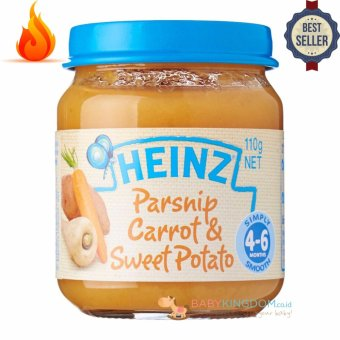 Harga Heinz Parsnip Carrot & Sweet Potato - 110 gr