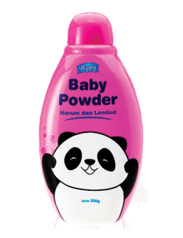 Harga Happy Baby Powder - Pink - 3pcs