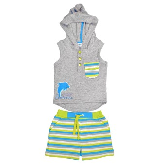 Harga Torio Aquatic Animals Sleeveless Set - Baju Anak