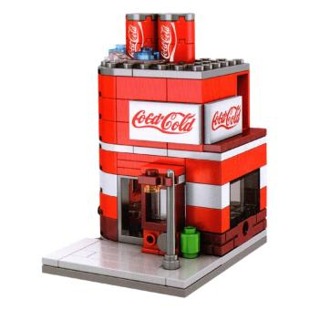 Harga AA Toys Sembo Block Coca Cold Cola Shop SD6024 - Mainan Bangunan Coca Cola Shop