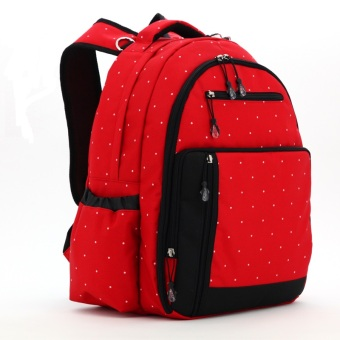 Harga Multifunction Baby Diaper Bags Mama Organizer Bag L130 (Red)