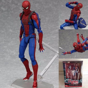 M Finn process FIGMA199 movable spider-man hand do FIGMA216 thor hands to do - intl