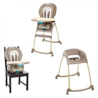 Harga Bright Starts InGenuity Trio 3 in1 Deluxe High Chair - Sahara Burst