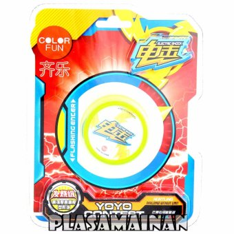 Harga AA Toys Yoyo Contest Electric Shock Color Fun Hijau - Mainan Yoyo