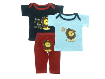 Harga Bearhug 3-Piece Set For Baby Boy - Lion Roar