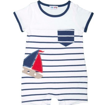 Harga Torio Little Sailor Dream White Play Suit