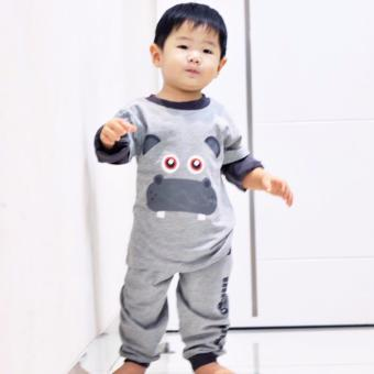 Pajamas for Kids Dessan Animal Hippo