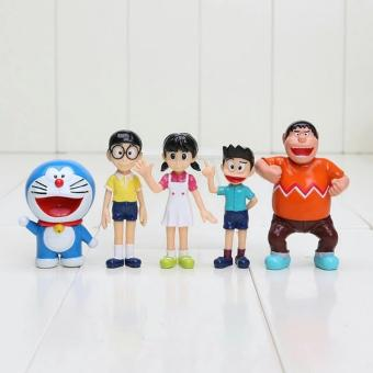 Harga Doraemon Figure isi 5set