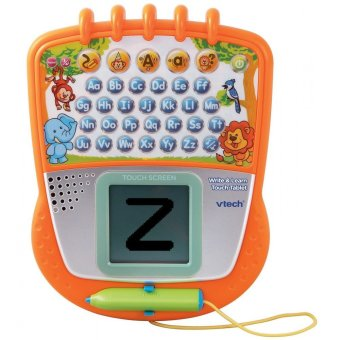 Harga Vtech Write & Learn Touch Tablet Mainan Edukatif Berbentuk Tablet Touch Screen - Orange