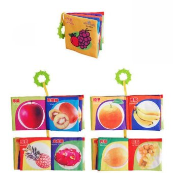 Harga Okdeals Kid Fruits Intelligence Development Cloth Cognize Book