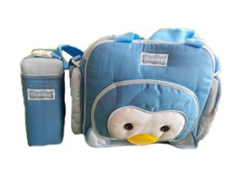 Harga Dialogue Diapers Bag Penguin DGT 7117 - Biru