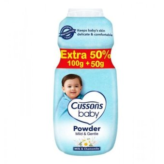 Harga Cussons Baby Powder Mild and Gentle - 100+50gr