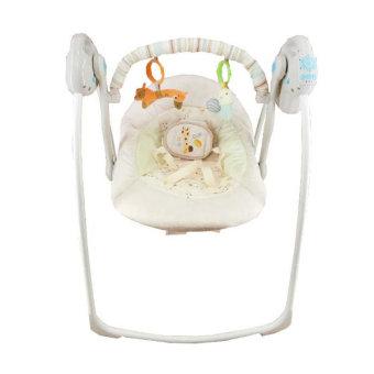 Baby Elle Portable Swing Electric - Cream