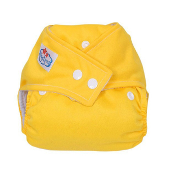 Harga PAlight Baby Washable Cloth Diaper Nappy (Yellow)