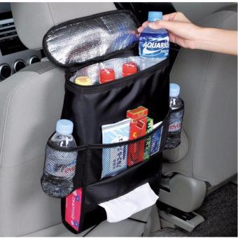 Kantong belakang kursi mobil bayi penyelenggara dudukan multi-saku bagasi ( hitam) - International