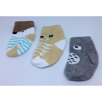 Harga Litte Dots Baby Socks Boy Animal Kaos Kaki Bayi