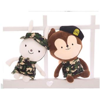 Boneka Couple Descendant Of The Sun Neukkun and Hayang 2PCS 40CM