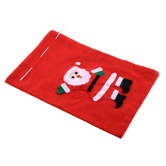Harga Christmas Santa Claus Snow Candy Gift Backpack Bag Holder Decorations Sack