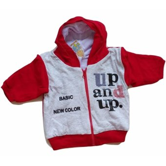 Harga Jelova Baby Angela Akachan Jaket Baby Bayi UP & UP SNI Standart Recommended to 1-2 Years - Red