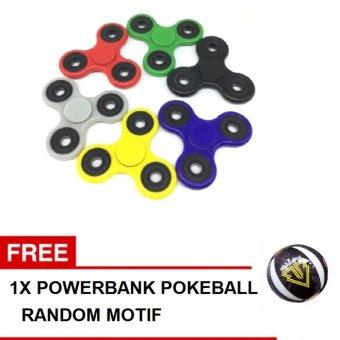ANGEL Fidget Spinner Hand Toys Mainan Tri Spinner EDC Ceramic Ball Focus Games .
