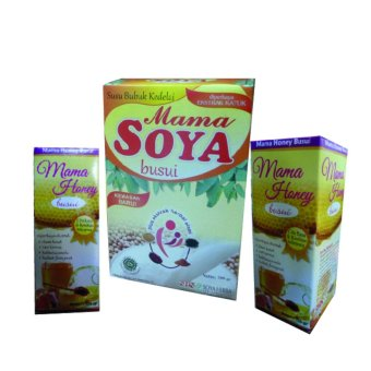 Mama Soya (1 Pcs) + Mama Honey - Madu Busui (2 Pcs)