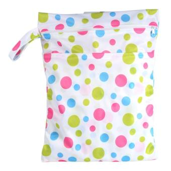 Harga New Reusable Baby Cloth Nappy Wet Bag Washable Sanitary Menstrual Pads Carry Pouch - intl